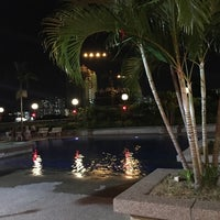 Photo taken at Symphony Park Swimming Pool by Ee Teng O. on 2/16/2017