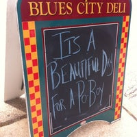 Photo taken at Blues City Deli by Russell D. on 10/11/2012