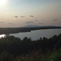 Photo taken at Mount Katahdin by Lynn S. on 7/18/2014