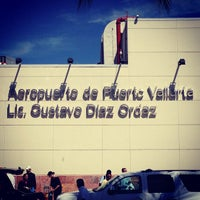Photo taken at Licenciado Gustavo Díaz Ordaz International Airport (PVR) by Darshan R. on 2/14/2013