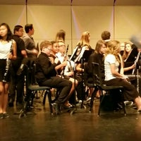Photo taken at Valley Vista High School Performing Arts Center by Felix A. on 5/13/2015