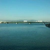 Photo taken at JR 下神崎川橋梁 by 風馬 ㅤ. on 12/16/2016