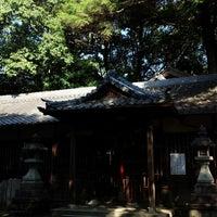 Photo taken at 意賀美神社 by 風馬 ㅤ. on 10/8/2017