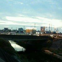 Photo taken at 萬歳橋 by 風馬 ㅤ. on 9/10/2016