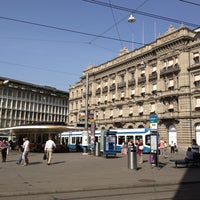 Photo taken at Paradeplatz by Per M. on 10/13/2012