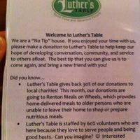 Photo taken at Luther's Table by Olga N. on 10/20/2012