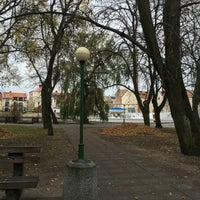 Photo taken at Danės skveras by Julija A. on 11/4/2015