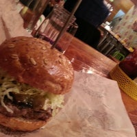 Photo taken at Bareburger by Frank T. on 3/3/2013