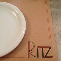 Photo taken at Ritz by Luís Fernando G. on 3/9/2013