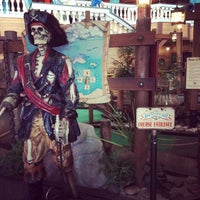 Photo taken at Buccaneer Bay Miniature Golf by Veronica H. on 4/22/2015