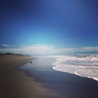 Photo taken at Zmudowski State Beach by Veronica H. on 2/27/2013