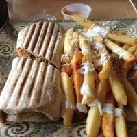 Photo taken at Greek City Cafe by Carole S. on 10/27/2012
