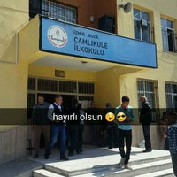Photo taken at Çamlıkule ilk öğretim okulu by Ali Y. on 4/16/2017
