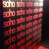 Photo taken at Soho Bar by Bill F S. on 9/27/2012