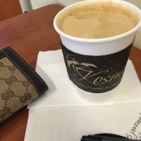Photo taken at Kosmos Coffee Shop by Nubia Q. on 9/10/2015
