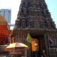 Photo taken at Sri Mahamariamman Temple by Chalermpol S. on 3/23/2013