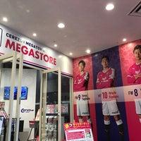 Photo taken at セレッソ大阪 メガストア by 美我空 ビ. on 10/8/2018