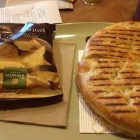 Photo taken at Panera Bread by Tim on 12/7/2013