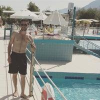 Photo taken at Daima Resort Beach Kemer by Tahir T. on 5/28/2017