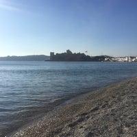 Photo taken at Artemis Beach by Özay Ö. on 12/18/2016