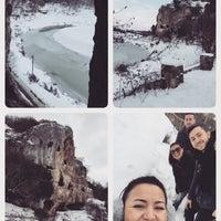 Photo taken at inceğiz mağaraları by Fulya 🎀 on 1/2/2016