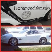 Photo taken at Hammond Autowerks by Shmuel H. on 8/22/2013