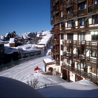 Photo taken at Avoriaz by Necdet B. on 1/23/2013