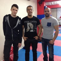 Photo taken at FİGHT TiME AKADEMY  muay thai by Numan Can A. on 4/8/2014