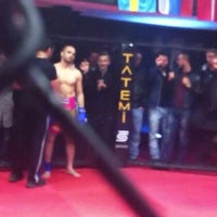 Photo taken at FİGHT TiME AKADEMY  muay thai by Numan Can A. on 11/2/2013