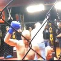 Photo taken at FİGHT TiME AKADEMY  muay thai by Numan Can A. on 7/13/2013