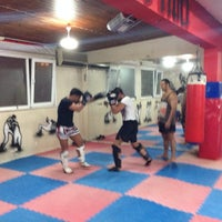 Photo taken at FİGHT TiME AKADEMY  muay thai by Numan Can A. on 3/14/2014