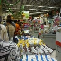 Photo taken at Bompreço by Vanessa C. on 12/10/2012