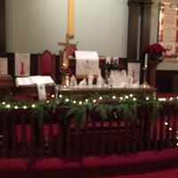 Photo taken at Calvary United Methodist Church by Maxie H. on 12/24/2015