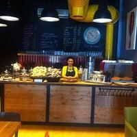 2/17/2014 tarihinde Yalcin C.ziyaretçi tarafından 180° Coffee Bakery'de çekilen fotoğraf