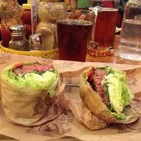 Photo taken at Bareburger by Nicole Stella on 7/22/2013