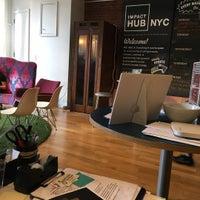 Photo taken at Impact Hub NYC by Blake F. on 5/2/2017