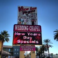 Photo taken at Viva Las Vegas Wedding Chapel Inc. by Dj Stutter on 1/1/2013