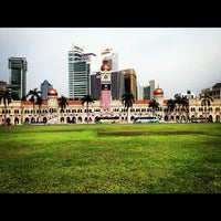 Photo taken at Independence Square by William Lye Wei Wern on 9/15/2012