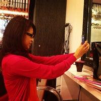 Photo taken at Peek-a-boo Hair Salon by William Lye Wei Wern on 7/9/2013