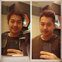 Photo taken at Peek-a-boo Hair Salon by William Lye Wei Wern on 3/14/2014