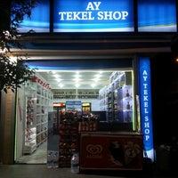 Photo taken at Ay Tekel Shop by Aydın Ş. on 6/22/2014