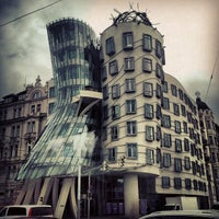 Photo taken at Dancing House by Serge_at on 4/24/2013