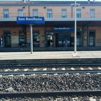 Photo taken at Stazione FS San Bonifacio by Francesca B. on 4/7/2015