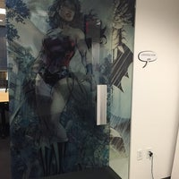 Photo taken at DC Comics by Nicole on 10/10/2014
