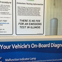 Photo taken at Illinois Air Team - Emissions Testing Station by Shirley RN on 8/6/2015