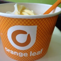 Photo taken at Orange Leaf by Lollie - F. on 8/6/2014