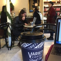 Снимок сделан в Variety Coffee Roasters пользователем Valerie S. 12/7/2017