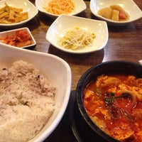 Photo taken at 맛있는 순두부&김치찜 경성대점 by Stacy A. on 3/23/2017