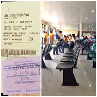 Photo taken at Waiting Area, Bancasi Airport by Libotero.com S. on 2/10/2014