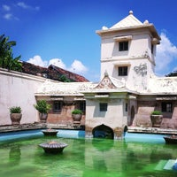 Photo taken at Taman Sari Water Castle by Maoxi E. on 5/3/2013